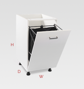Utility laundry cabinets for Laundry chute dimensions