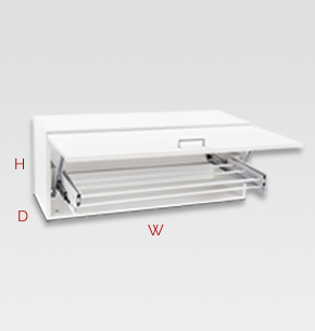 450mm White Laundry Drying Cupboard Specs And Instructions
